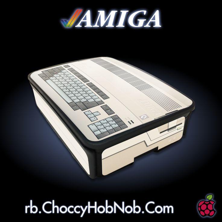 RetroPie Commodore Amiga Official Case