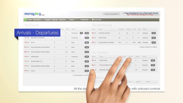 http://www.managinng.com  Meet managinng, the new Online Hotel Management System. Easy, Simple, Affordable.