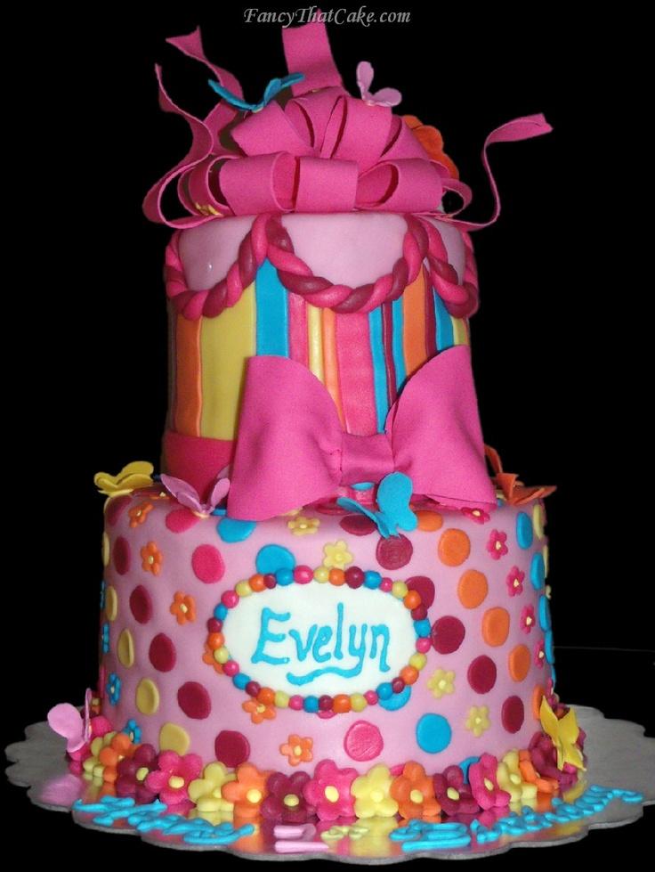 girly birthday cake Arianna 3rd Birthday Pinterest