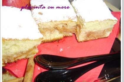 Placinta cu mere ( cu foaie turnata)