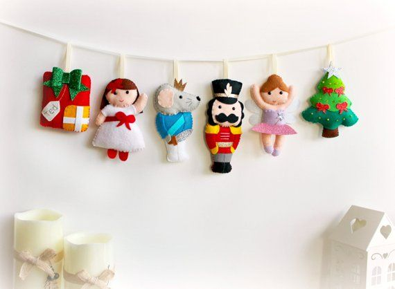 Nutcracker Ballet Felt Set
