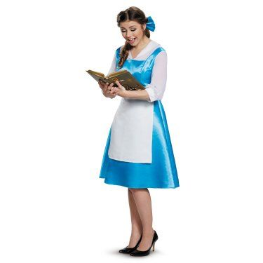 Beauty and the Beast Belle Adult Blue Dress Costume