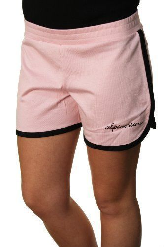 ALPINESTARS Women NWT Gym Class Short Pink Black M Workout Casual #ALPINESTARS #CasualShorts