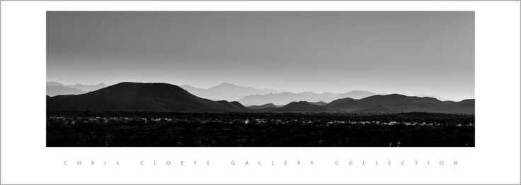 Late afternoons in the Karoo. Shot outside Prins Albert