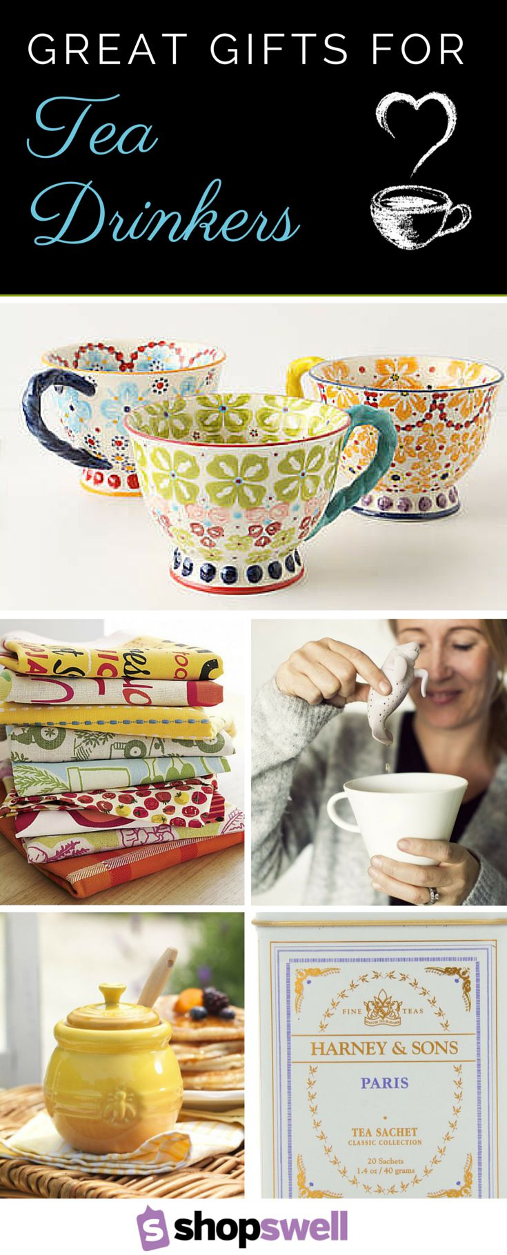 Over 20 Great Gift Ideas for Tea Drinkers
