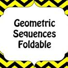 This fun foldable is great to review or introduce the explicit and recursive formulas of a geometric sequence. ...