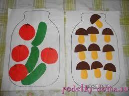 Картинки по запросу детские поделки на тему грибы