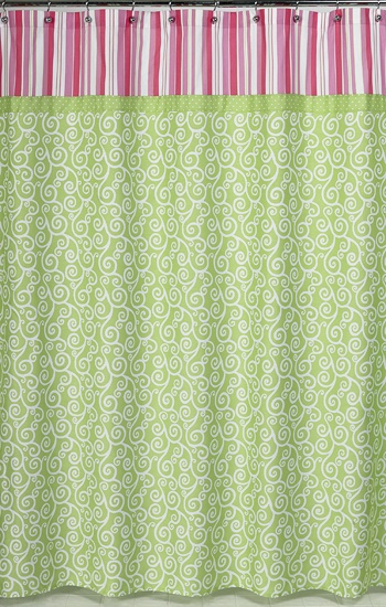 pink and yellow shower curtain. Olivia Shower Curtain  Sweet JoJo Designs Pink and Green http 117 best Curtains images on Pinterest Design shop