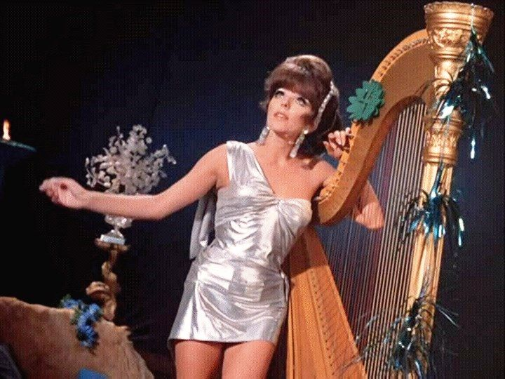 Joan Collins as the Siren  HOLY BATMAN  Joan collins