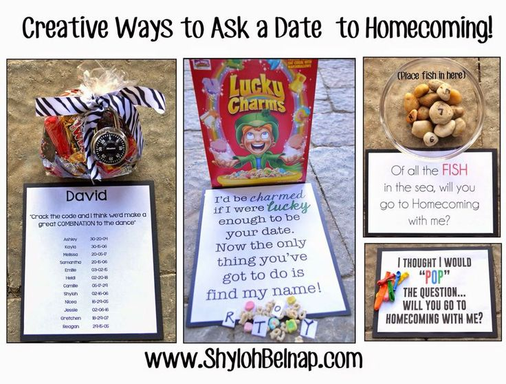 8 best cute ways to ask a guy to a dance images on pinterest shyloh belnap creative ways to ask a date to homecoming ccuart Images