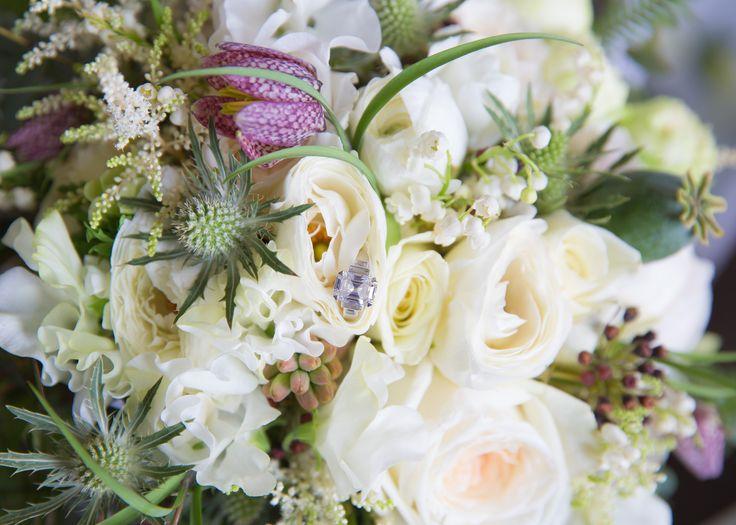 Boho wedding bouquet with Diamonds