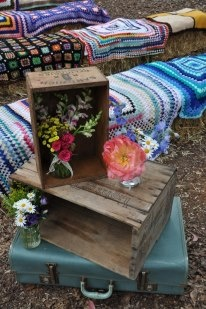 Vintagewares from Cape Of Love.Flowers by Wood & Belle.  www.capeoflove.com