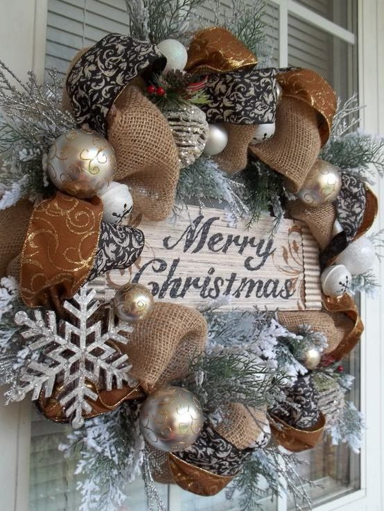 WOODLAND CHRISTMAS Rustic & Metallic by DecorClassicFlorals