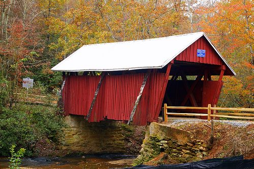 Campbell's Covered Bridge - Greenville SC, near Hendersonville NC  - Google Search