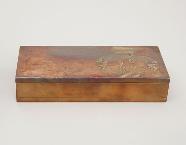 Connoisseur Cigarette Box, 1934
