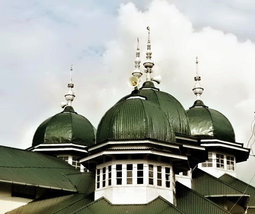 Mosque in Padang Panjang, West Sumatera, Indonesia