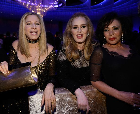 Barbra Streisand, Shirley Bassey, Adele, Oscars 2013. Now this ladies & gentlemen is powerhouse!