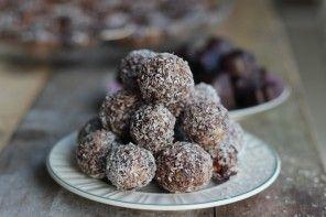 Healthy Snack: Choco kokos balletjes
