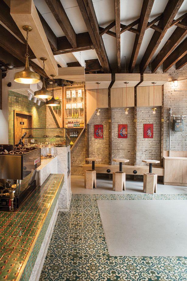 ICONIC CAFE | studio vural; Photo: Kate Glicksberg | Archinect