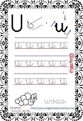 Cuaderno de trazos Imágenes Educativas letra escolar (22)