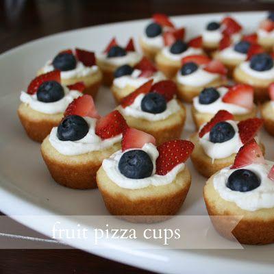 Live a Little Wilder: fruit pizza cups {recipe}