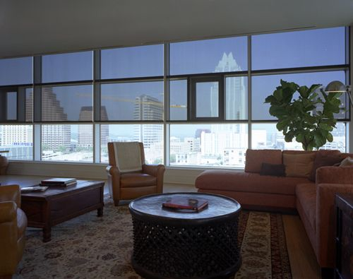 Interior Solar Screens | Get A Contemporary Look While Blocking Sun In Any  High Rise