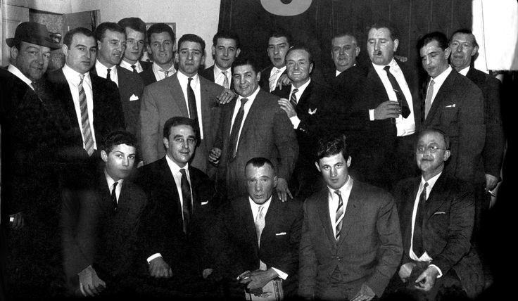 Freddie Foreman, Reggie Kray, Charlie Kray Snr, and Ronnie Kray