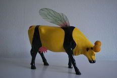 Cow Parade - cow - Large model - Bumble Bee