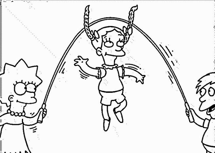 Die Simpsons 27 Ausmalbilder Fur Kinder Malvorlagen Zum Ausdrucken Und Ausmalen Ausmalbilder Ausmalen Ausmalbilder Kinder