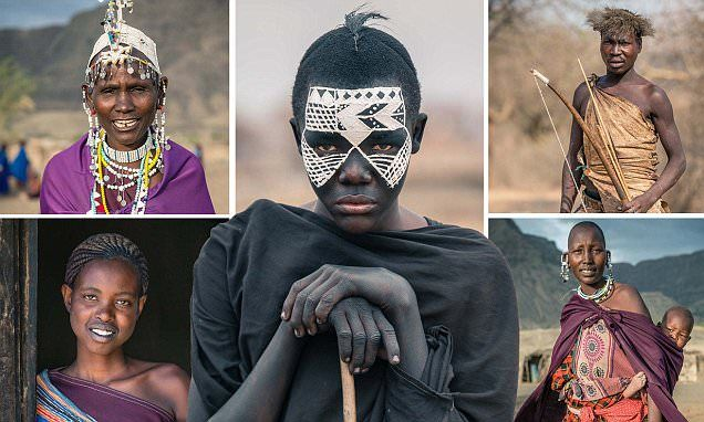 Photographer captures three unique tribes in Tanzania