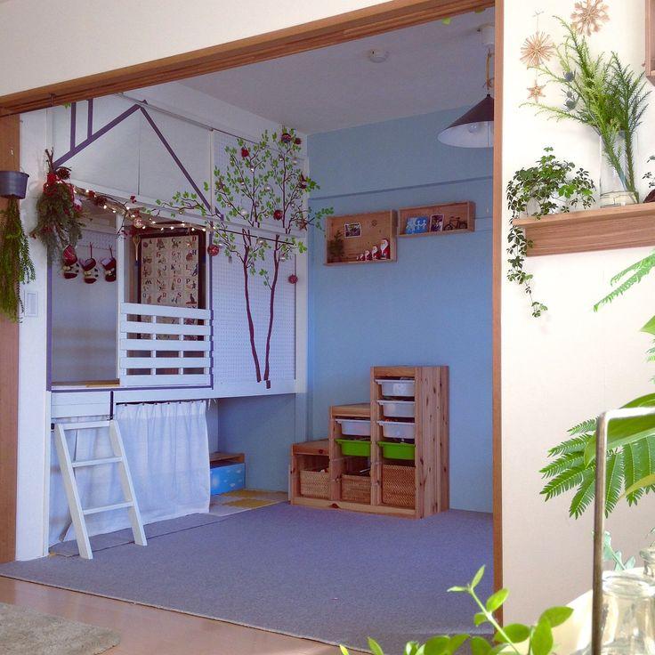 クリスマス/こどもと暮らす。/グリーンのある暮らし/押入れ改造/和室を改造…などのインテリア実例 - 2015-12-05 19:21:26 | RoomClip(ルームクリップ)