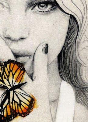*Drawing Of Butterflies, Pop Of Colors, Fried Feet, Elisa Mazzone, Acrylics Art, Art Inspiration, Beautiful, Illustration, Online Job