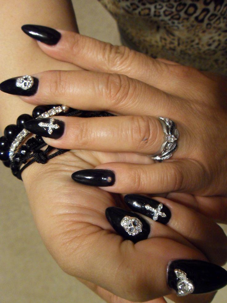 rocker nail designs - Google Search