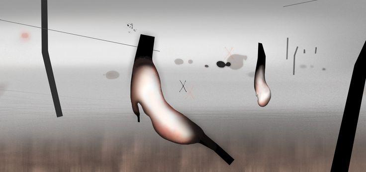 I am a shape. Digital painting. Rita Rodner 2012