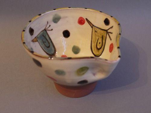 birdie dip and pour bowl