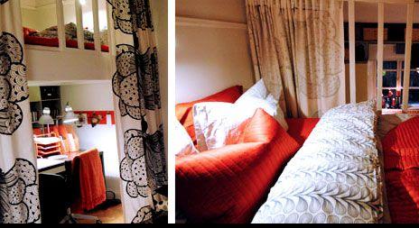 Äntligen hemmas Björn Christiernsson byggde en smart loftsäng som passar utmärkt för den lilla lägenheten. Här hittar du ritning och beskrivning på hur du bygger din egen.