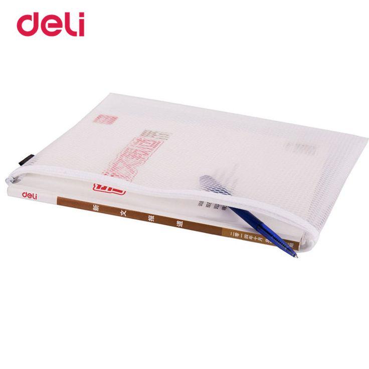 Deli Documento Bag File Folder Size A6 Bundles Closure For Business Supplies Statioenry Practical White Presentation Folder