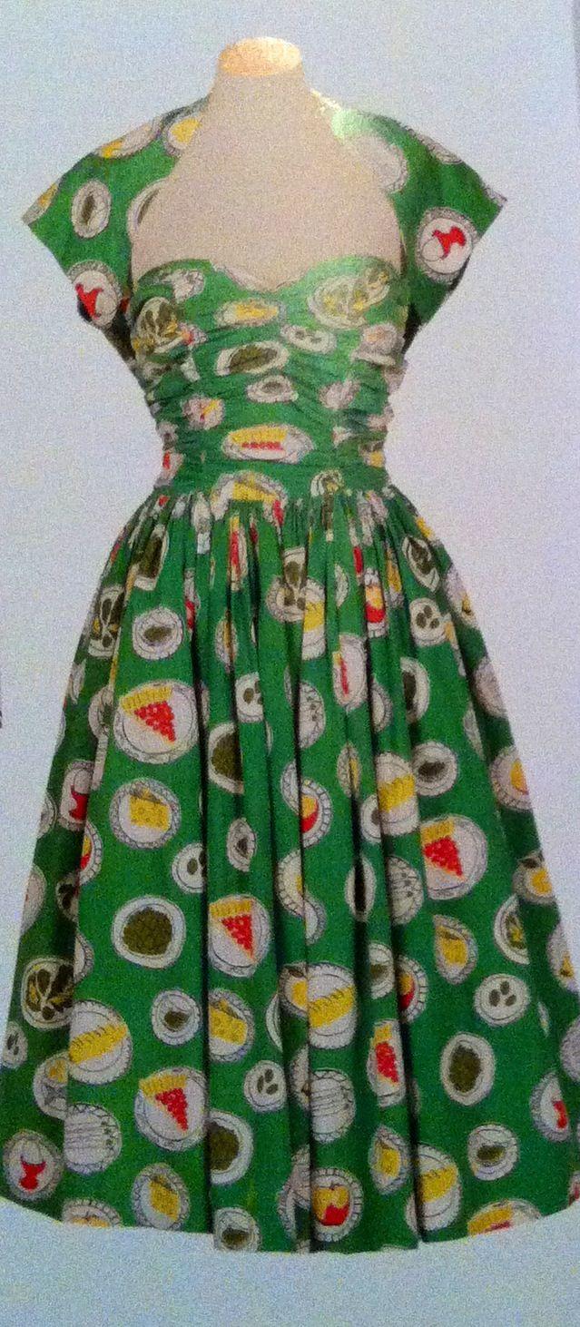 1950's Sundress and Bolero. Great print...........