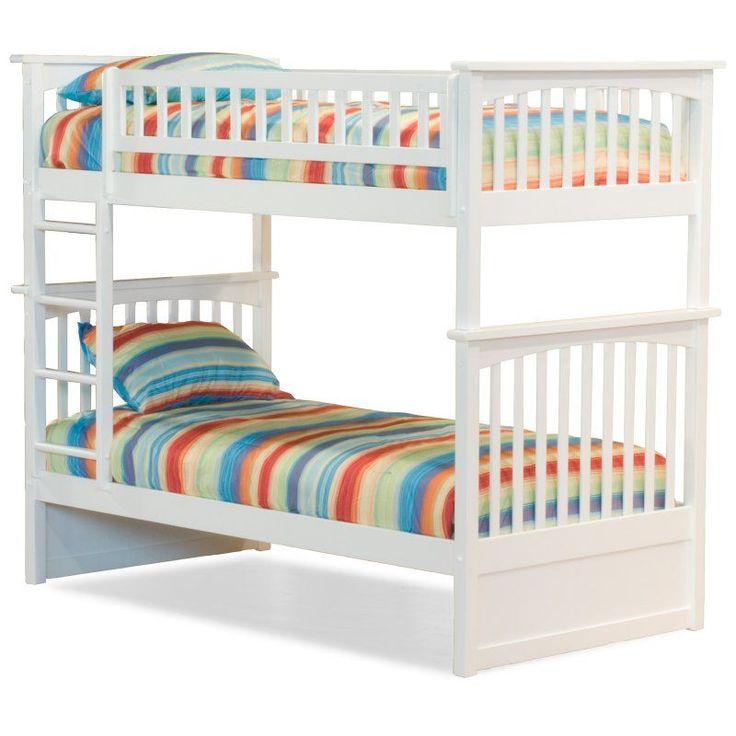 Atlantic Furniture Columbia Twin over Twin Bunk Bed - AB551