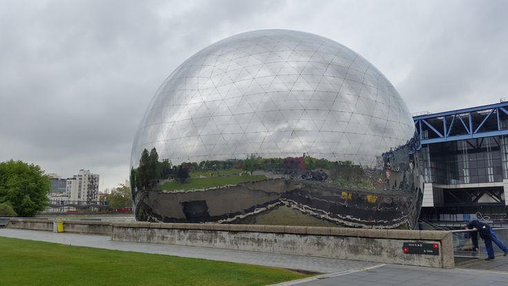 Spiegel bol, Parc de la villette