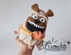 Krawka: PUG crochet pattern…