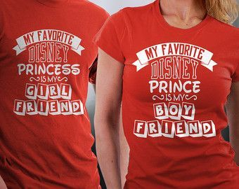 Disney Prince/Princess Couple Tshirts His and Her by styleURshirt