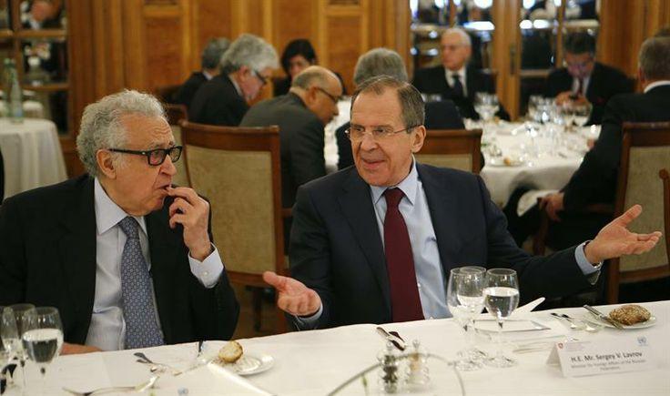 El canciller ruso Serguei Lavrov criticó los intentos de algunos gobiernos de interpretar los documentos de la primera reunión de Ginebra a su conveniencia. (Foto: EFE)