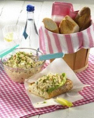 Eiercreme mit Thunfisch