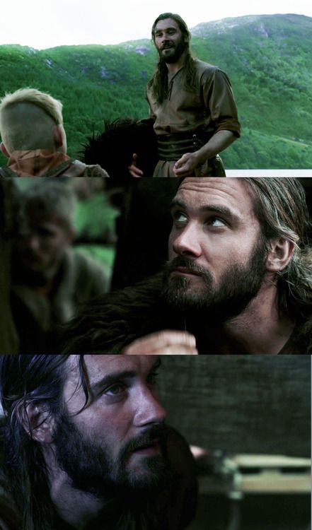 """Clive Standen as Rollo in """"Vikings"""" on the History Channel. Season 2 now filming."""