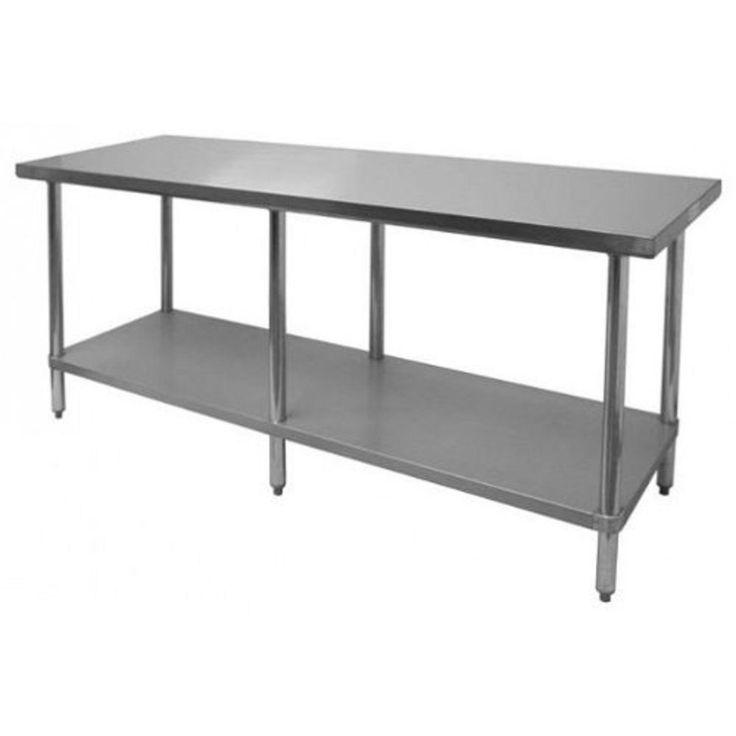 Amazon.com: WORKTABLE Food Prep Work table Restaurant Supply Stainless Steel: Industrial & Scientific