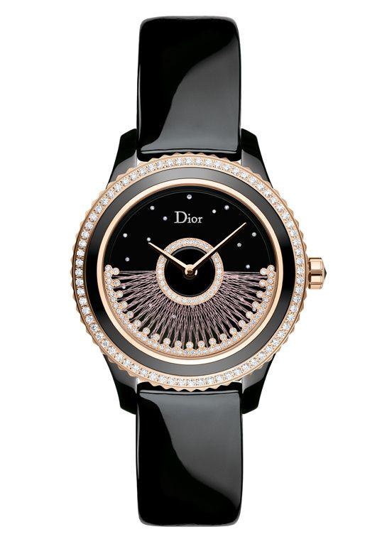 Montre Dior VIII Grand Bal Fil de Soie http://www.vogue.fr/joaillerie/shopping/diaporama/montres-metiers-d-art-haute-couture-haute-horlogerie/21738/image/1126274#!montre-dior-viii-grand-bal-fil-de-soie