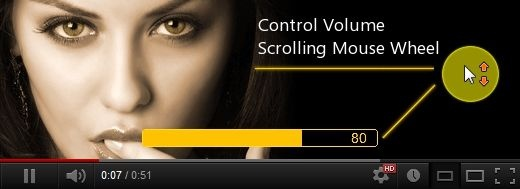 Magic Actions for YouTube - Volume Control