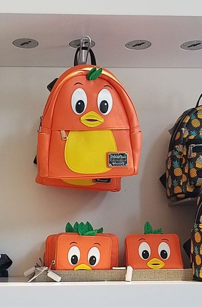 b3be10d1976 Orange Bird by Loungefly. New Collection of Disney Parks Inspired Loungefly  Mini Backpacks And More