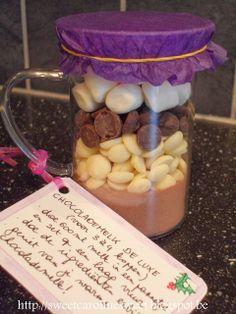 Homemade cadeautje: Chocolademelk de luxe - Homemade gift: luxurious chocolate milk